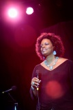 Dianne Reeves @ Newport Jazz Festival, RI, 2007.