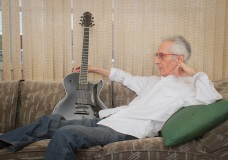 Pat Martino @ his home, Philadelphia PA, 2012.