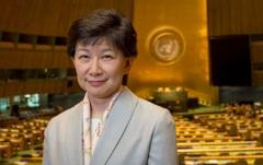 Izumi Nakamitsu @ UN, NYC, 2016.
