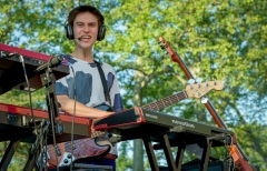 Jacob Collier @ Central Park, NYC, 2016.