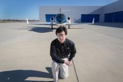 Michimasa Fujino @ Honda Aircraft Company, Greensboro NC, 2014.